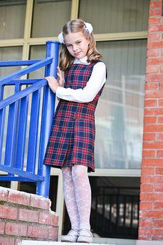 Preteen Fashion, Young Girl Fashion, Kids Fashion, Girly Girl Outfits, Cute Girl Dresses, School Uniform Girls, School Uniforms, Cute Tights, Vintage Kids Clothes