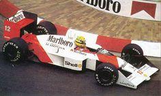 McLaren MP4/4 Ayrton Senna