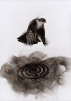 Steve Spazuk Paints with Fire and Soot