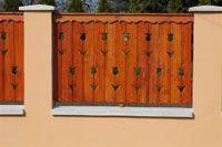 kerítések-34 Fence Gate, Fences, Barbecue Garden, Woodworking Jigs, Garden Gates, Cottage Homes, Wood Art, Front Porch, My House