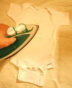 High Street Market: Custom Onesie Clothesline DIY