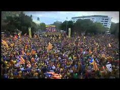Les millors imatges de la Via Catalana (TV3)