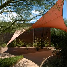 Pergola Attached To House Pergola With Roof, Backyard Pergola, Pergola Shade, Pergola Ideas, Garden Shade Sail, Sun Sail Shade, Shade Sails, Outdoor Awnings, Canopy Outdoor