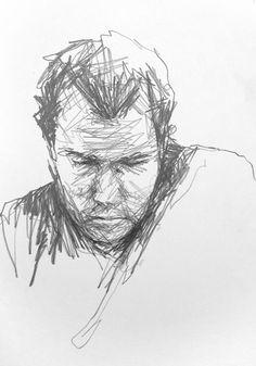 Coffee Shop Moleskine by David Hewitt Artist #Art #Drawing #Sketchbooks…