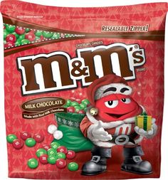 Authentic M&M's Milk Chocolate Candy for the Holidays, 42 Ounce Pouch, ,