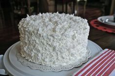 Southern Coconut Cake | Old Fashion Coconut Cake Recipe | Simple Easy and Very Lite