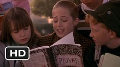 Friendship, bullying, Mean Jean:  Harriet the Spy