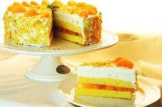 Mandarinkovo-šlehačkový dort