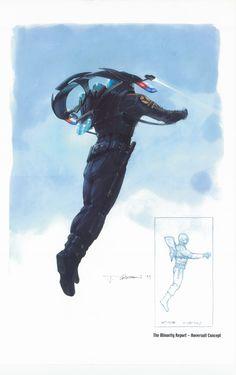 Minority Report concept artwork courtesy of 20th Century Fox
