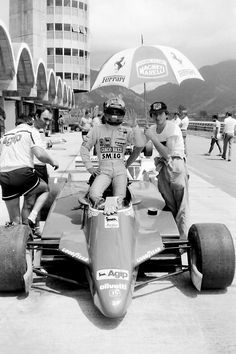 Joseph Gilles Henri Villeneuve, known as Gilles Villeneuve, was a Canadian racing driver. Villeneuve spent six years in Grand Prix racing with Ferrari, winning six races and widespread acclaim for his performances.