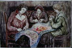 Moshe Rynecki | Żydowski Instytut Historyczny (ZIH or Jewish Historical Institute)  has in its collection 52 Moshe Rynecki paintings.