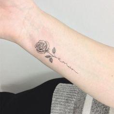 Rose Tattoo Artist: 横山 Kristie Yuka 23 – Tattoo Artist -… – Awesome Ta… Tattoos And Body Art best tattoo artists Mini Tattoos, Trendy Tattoos, Cute Tattoos, Small Tattoos, Forearm Tattoos, Body Art Tattoos, New Tattoos, Flower Tattoo Designs, Flower Tattoos
