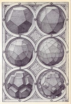 Coelum - Perspectiva Corporum Regularium - Wenzel Jamnitzer 1568