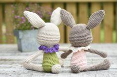 Lace Collar Bunny Amigurumi Pattern
