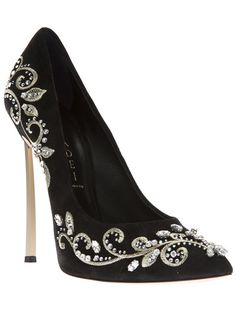 Casadei       Never in my wildest dreams could I wear this shoe but it's pretty enough to just look at!!  LoL!