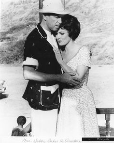 Photo of Maureen O'Hara & James Stewart for fans of Classic Movies.