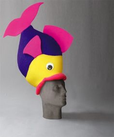 ideas de gorros para cotillon casamiento - Buscar con Google Crazy Hat Day, Crazy Hats, Carnaval Costume, Little Girl Costumes, Ocean Party, Funny Hats, Hat Crafts, Fantasy Costumes, Ideas Para Fiestas