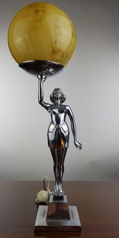 Banksway Art Deco Lady Lamp