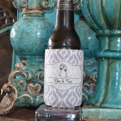 Full Color Printed Personalized Koozies by Gracious Bridal. $4.15. Customize your party drinks at your next birthday, reunion, wedding, or bbq. Great favor to design for your guests to take home with them.