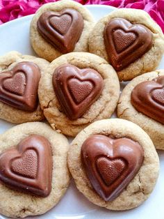 Soft-Baked Peanut Butter Sweethearts
