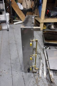 How to Make an Outdoor Griddle: 9 Steps (with Pictures) Custom Bbq Smokers, Diy Grill, Griddles, Blacksmithing, Metal Working, Cast Iron, Grilling, Steel, Welding