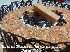 Tarta de Mousse de Turrón de Jijona