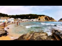 Cala la Barraca Portitxol Xabia timelapse Tilt Shift teaser # 5 landscape