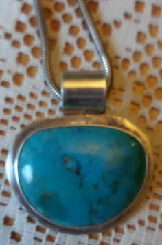 Vintage Silver Turquoise Signed Castillo Mexico Necklace by BuddysBoutique on Etsy Vintage Silver, Vintage Jewelry, Costume Jewelry, Turquoise Bracelet, I Shop, Mexico, Pendant, Fun, Etsy