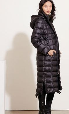 Packable Quilted Down Coat - Lauren Coats - RalphLauren.com