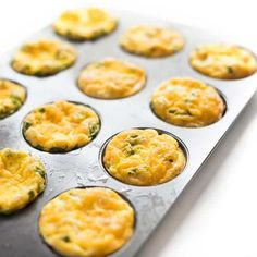 Ham and cheese egg muffins are the ideal, protein-packed breakfast that can be made ahead and quickly reheated on busy weekday mornings. in muffin tin Ham and Cheese Baked Egg Cups Breakfast Egg Muffins Cups, Eggs In Muffin Tin, Ham Breakfast, Muffin Tin Recipes, Low Carb Breakfast, Breakfast Casserole, Egg Recipes, Breakfast Recipes, Breakfast Ideas