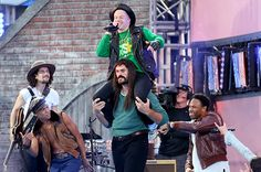 Billboard - Macklemore & Ryan Lewis Head 'Downtown' for Video Music Awards Spectacle