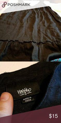 Mossimo tank top dress Black tank top dress   100% linen  moss Mossimo Supply Co Dresses