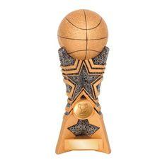 Tri Star Basketball 200mm Basketball Awards, Stars, Sterne, Star
