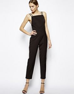 Solace London Elin Jumpsuit with low back