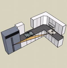 Basic Kitchen Design Layouts Entrancing 35 Best Idea About Lshaped Kitchen Designs Ideal Kitchen . Design Inspiration