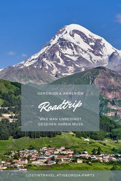 Travel guide for your Travel to Georgia Tbilisi and ideas for your travel to Georgia and what to do in the wine region in Georgia and the Georgian Caucasus. Bergen, Road Trips, Travel Guide, Traveling By Yourself, Travel Photography, History, Ideas, Summary, Round Trip