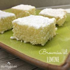 Brownies al limone ricetta facile