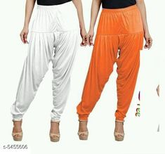 Checkout this latest Patialas Product Name: *Fabulous Women's Patiala Pants Combo (Pack Of 2)* Fabric: Cotton Viscose  Waist Size: XL - 34 in XXL - 36 in  Length: Up To 40 in Type: Stitched Description: It Has 2 Pieces Of Women's Patiala Pants Pattern: Solid Country of Origin: India Easy Returns Available In Case Of Any Issue   Catalog Rating: ★4 (1170)  Catalog Name: Sana Fabulous Women's Patiala Pants Combo Vol 8 With CatalogID_813672 C74-SC1018 Code: 853-5455606-168