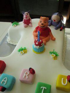 1 yaş winnie pastam