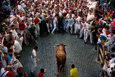 San Fermin festival 2013: Running of the Bulls - The Big Picture - Boston.com