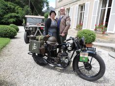 Jo Peeters and his B33 @ Chateau la Cheneviere