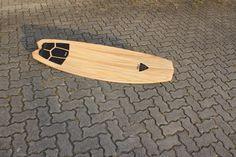 Wooden kiteboard