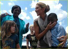 Celine Dion spreading Good Karma