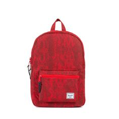 Settlement backpack mid volume red snake Herschel Supply Co