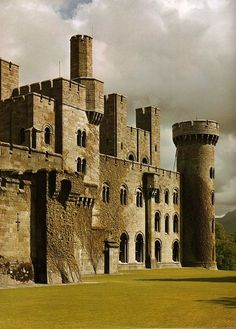 Medieval, Penrhyn Castle, Gwynedd, Wale Nope.19th century. Not everything with turrets is medieval!