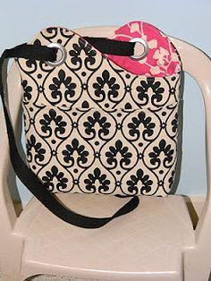 Sling Bag #1: Sewed this on Monday