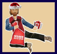 Chuck is coming to town.