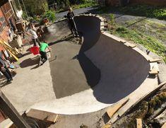 Hole 19 is a little DIY in the outskirts of Zürich, Switzerland Backyard Skatepark, Surf Cafe, Skate Park, Confusion, Skateboarding, Switzerland, Architecture Design, Surfing, Magazine