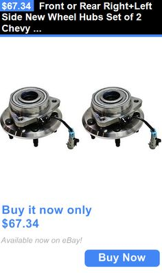 auto parts - general: Front Or Rear Right+Left Side New Wheel Hubs Set Of 2 Chevy Lh And Rh Equinox Pair BUY IT NOW ONLY: $67.34