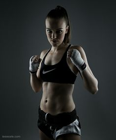 British Thai Boxing Champion Lucy H